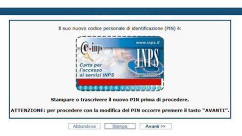 codice sede inps come richiedere pin inps soldioggi