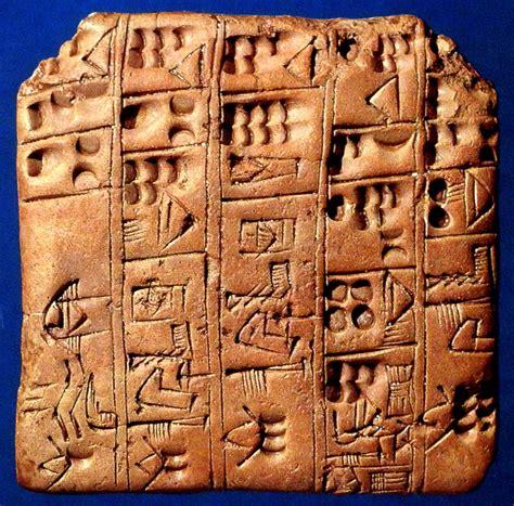 Sumerians Cuneiform