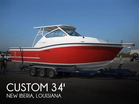 Aluminum Boats Louisiana For Sale by Custom 34 Walkaround Boat For Sale In New Iberia La For