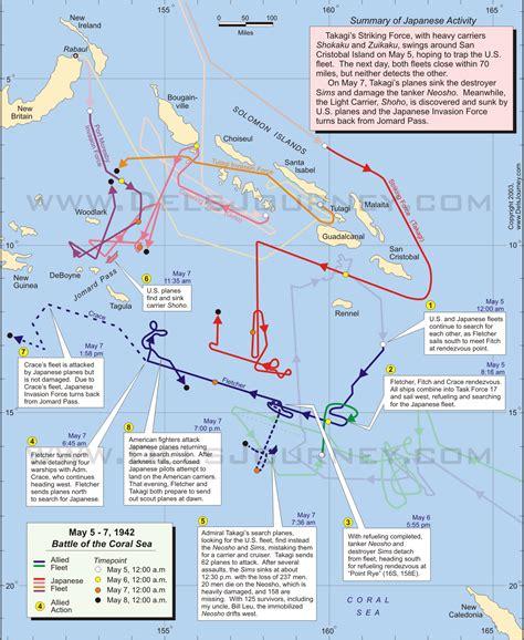 battle   coral sea action