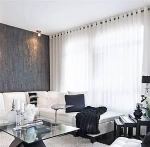 Rideaux Pour Salon Moderne : rideaux salon on pinterest 100 inspiring ideas to discover and try rideaux de salon rideau ~ Teatrodelosmanantiales.com Idées de Décoration