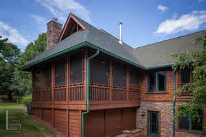 Screened Porch Beautifully Match Home Porch Build Porch Roof Designs