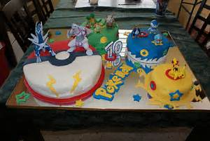pokemon cake designs