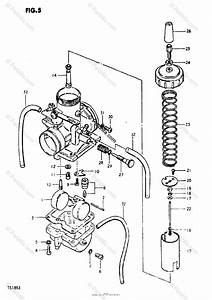 Suzuki Motorcycle 1981 Oem Parts Diagram For Carburetor
