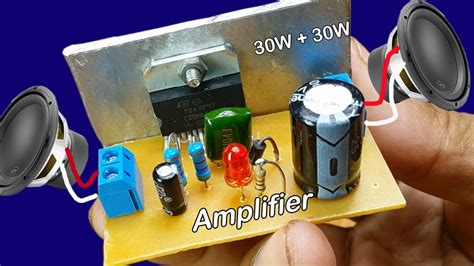 power audio stereo amplifier tda