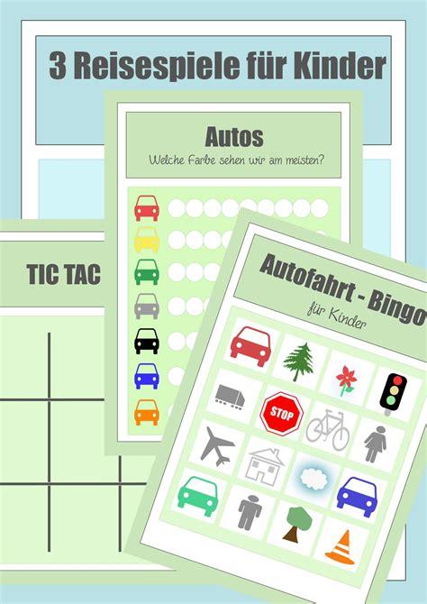 spiele mit autos reisespiele zum ausdrucken f 252 r die autofahrt mit kindern kinder reisespiele autofahrt