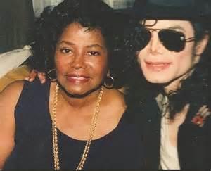 Katherine and Michael Jackson
