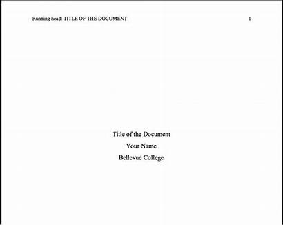 Apa Paper Title Research Format Template Museumlegs