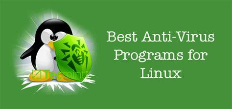 anti virus programs  linux