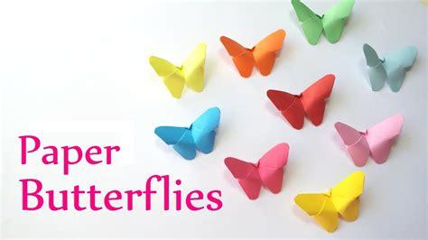 diy crafts paper butterflies easy innova crafts