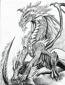 Realistic Dragon Head Coloring Pages. Realistic. Best Free ...