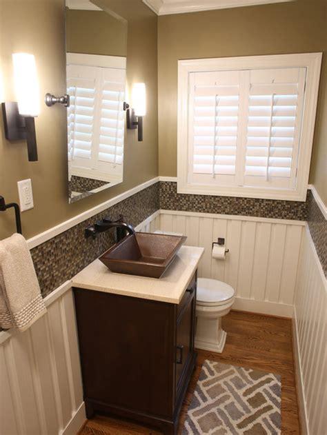craftsman powder room design ideas remodels