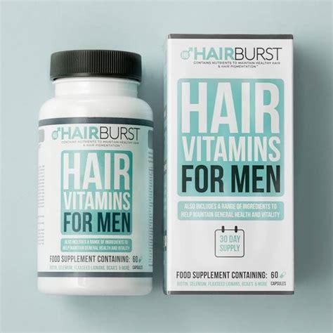 Hairburst matu augšanas vitamīni VĪRIEŠIEM 1 mēnesim   Izaudzēt garākus un stiprākus matus ...