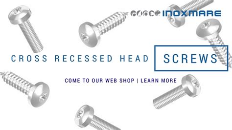 Stainless Steel Cross Recessed Pan Head Screws