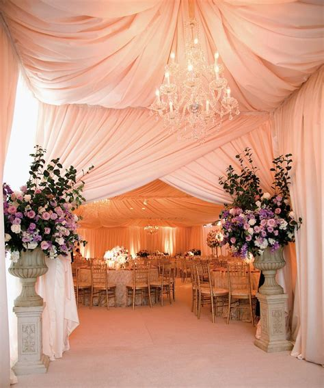 Ceiling Draping For Weddings