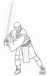 Coloring Wars Mace Pages Star Windu Printable Clones Attack Lightsaber Episode Ii Print Jar Jedi Supercoloring Pretty Template Starwars Picturethemagic sketch template