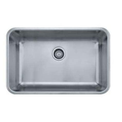 Ferguson Stainless Steel Kitchen Sinks by Fgdx11028 Grande Stainless Steel Undermount Single Bowl