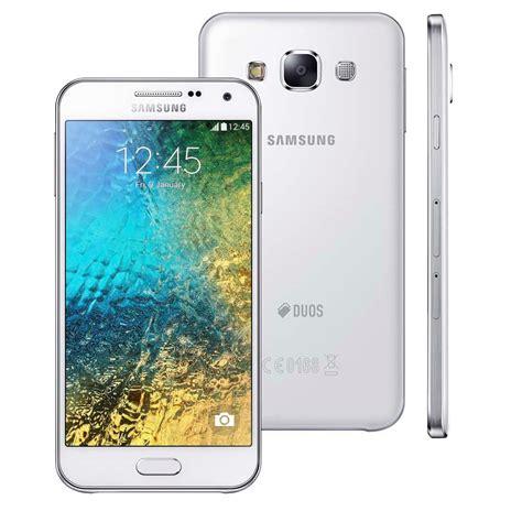 smartphone samsung galaxy e5 4g duos e500m ds branco dual chip tela 5 quot hd samoled android