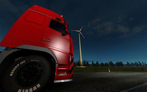 Truck Simulator 2 Wallpaper 4k by Truck Simulator 2 Sun Morning