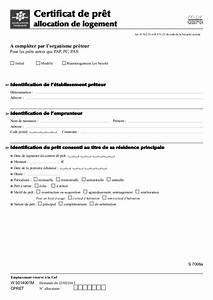 Pret Honneur Caf : formaulario demande d 39 aide de logemment ~ Gottalentnigeria.com Avis de Voitures