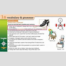 Traveller 3 1a Vocabulary  Words Easily Confused + Workbook B Youtube