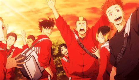 Haikyuu anime wallpaper, haikyu!!, text, group of people, western script. Nekoma-High-School   Tumblr