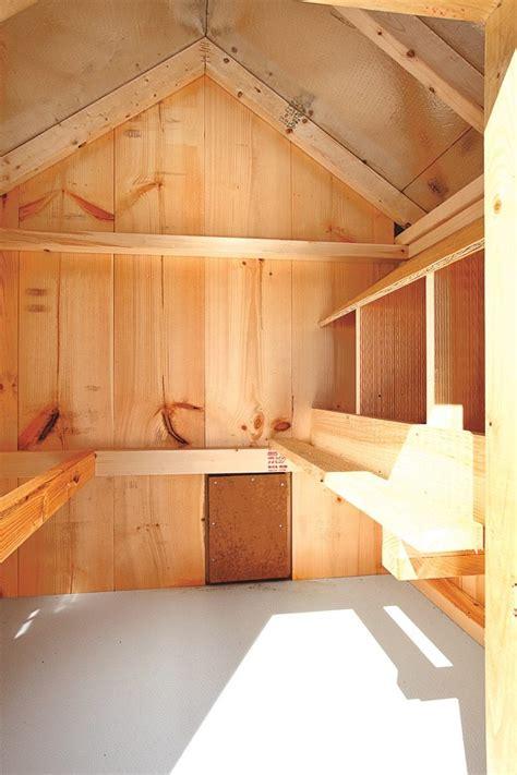 deluxe chicken coops   chicken coop interiors
