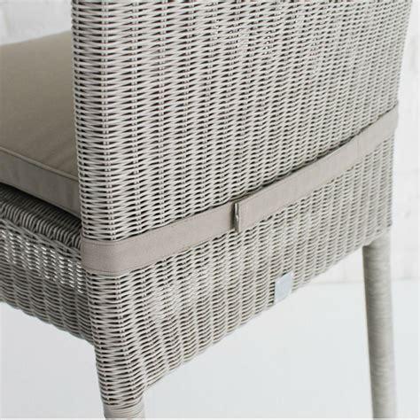 Chaise De Jardin En Aluminium Et Résine Tressée  Brin D'ouest