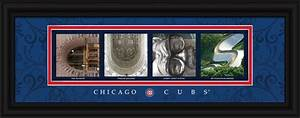 chicago cubs officially licensed framed letter art home With chicago letter art