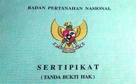 sertifikat tanah wakaf tanah