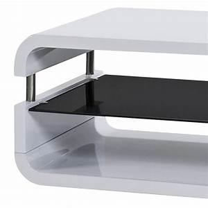 Tv Rack Weiß : tv rack cubixx hochglanz wei glas schwarz home24 ~ Whattoseeinmadrid.com Haus und Dekorationen