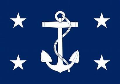 Navy Flag Secretary States United Svg Usa