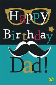 Happy Birthday Dad Cards