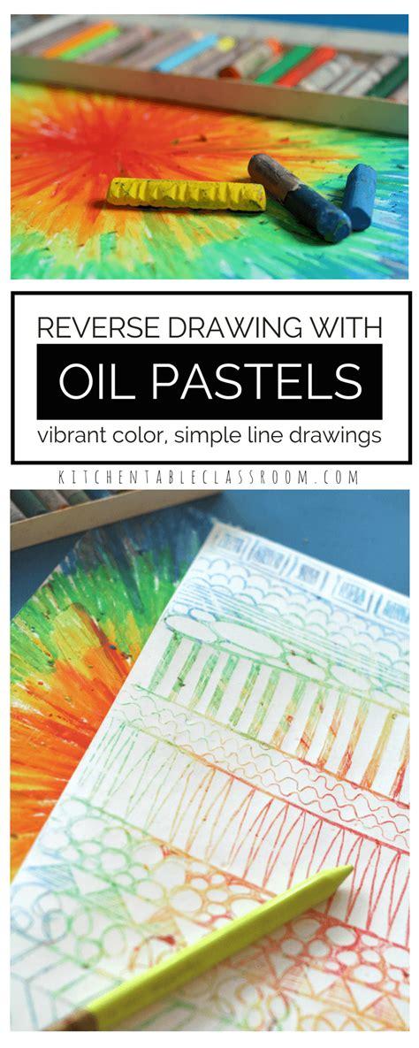 pastel drawing in process pastel