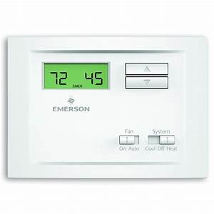 Emerson Single Stage Non-programmable Thermostat-np110