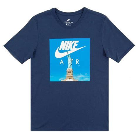 t shirt nike air 2 nike air liberty t shirt obsidian white mens clothing