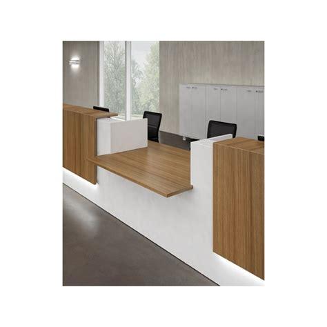 banque d accueil bureau banque d 39 accueil z2 l 126 cm mobilier de bureau