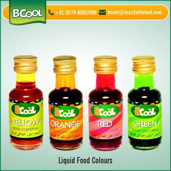 liquid food coloring preservatives free liquid food color for bulk supply buy