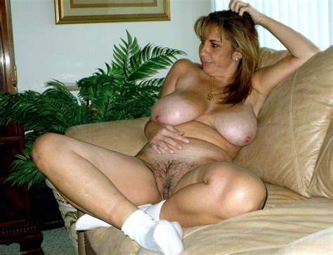 Hairy Porn Pic Mature Hairy Pussy And Big Tits