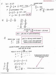 Cobb Adult Ed Math  Answers To Original Fraction Word Problems