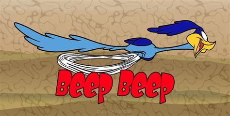 Road Runner, beep beep, License Plate, License Tag