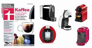 Kaffeemaschinen Stiftung Warentest Testsieger : 12 kaffee kapselmaschinen im test bei stiftung warentest ~ Michelbontemps.com Haus und Dekorationen