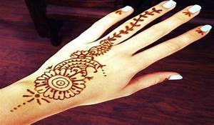 Simple Mehndi Designs for Hand - Easy And Simple Mehndi ...