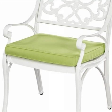 green apple fabric outdoor seat cushion 5500 cus