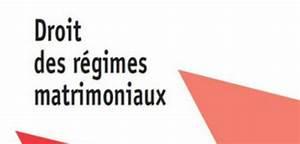 Pacs Régime Des Biens : droit des r gimes matrimoniaux ~ Farleysfitness.com Idées de Décoration