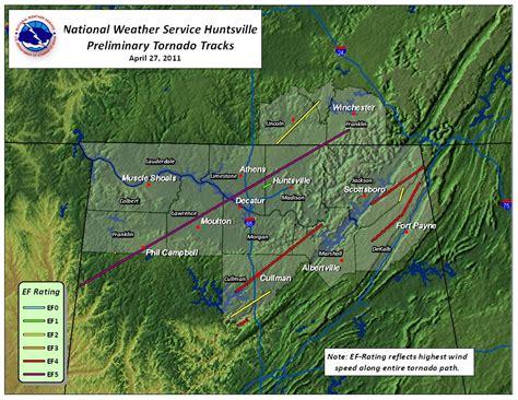 Long Track Tornado Hits Cullman, Alabama (4/27/2011