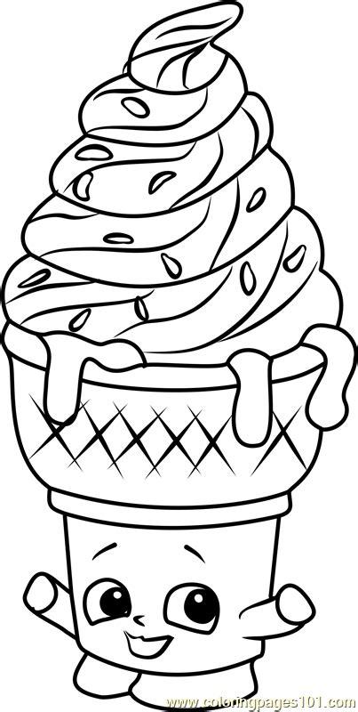 Unicorn Donut Kleurplaat by Unicorn Kleurplaat Squishy Dolly Donut Shopkin Season 5