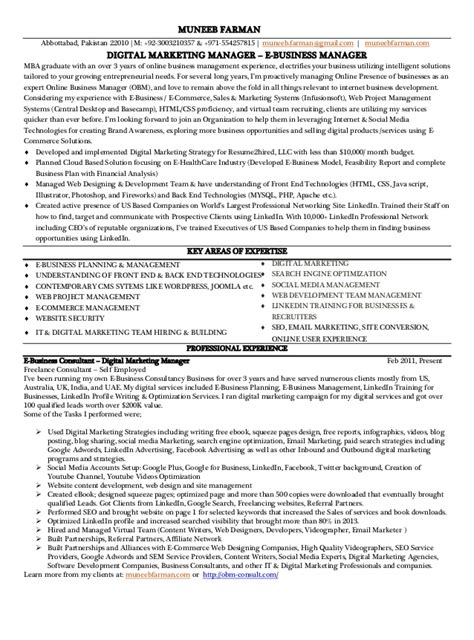 marketing manager resume marketing manager resume template