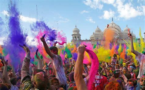 Photos From The 2016 Holi Celebration