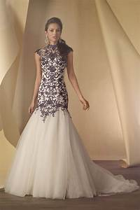 look extraordinary with black and white wedding dresses With looking for wedding dresses